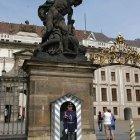 Охраняемый вход в Пражский Град