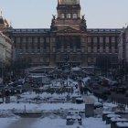 Национальный музей зимой