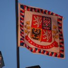 Величественный пражский флаг