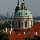 Купол собора Св. Микулаша - пражское барокко