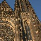 Западный шпиль собора св. Вита