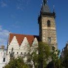 Новоместская ратуша - место проведения первой Пражской дефенестрации