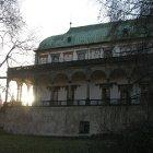 Зимнее солнце у Бельведера