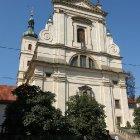 Передний фасад церкви девы Марии Торжествующей