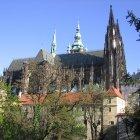 Вид на собор святого Вита с Оленьего Рва