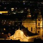 Собор Святого Микулаша - ночной вид