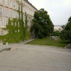 Вид Королевского сада у Пражского замка