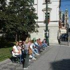 Улица Кармелинская в Праге
