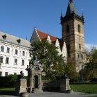 Вид на новую Новоместскую ратушу с Карловой площади