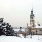 Зимний Лоретто в снегу